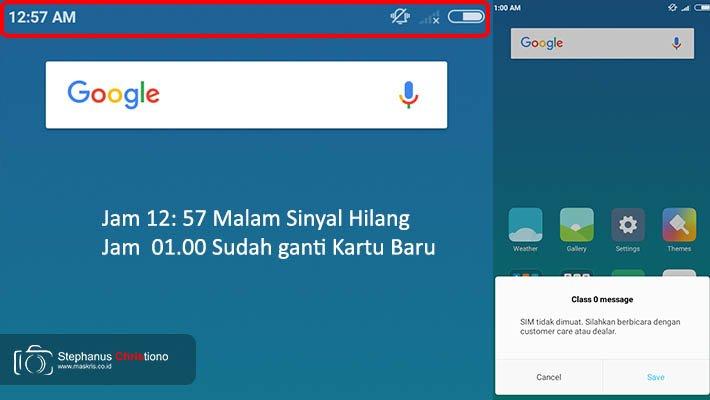 Pengalaman Ganti Sim Card Di Gerai Indosat Hartono Mall